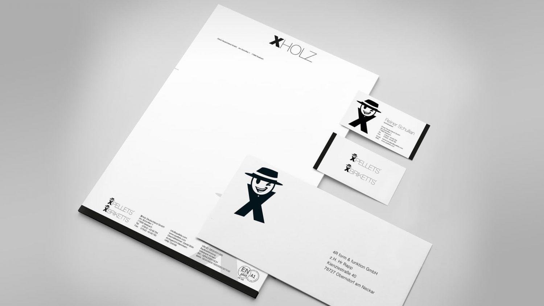 XPellets Geschäftsausstattung - 4R form & funktion GmbH Pellets Referenz