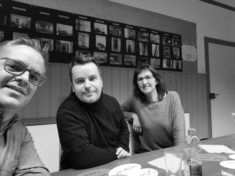 4R Team Hans-Jörg, Sonja, Alex