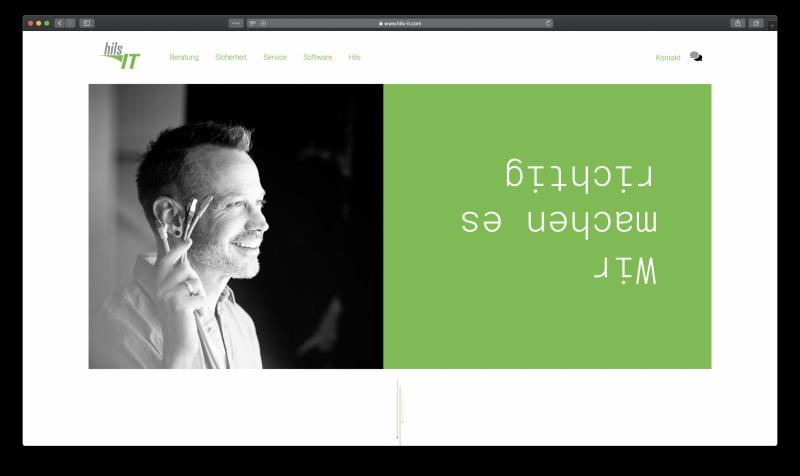 4R Referenzen - Hils IT Screenshot